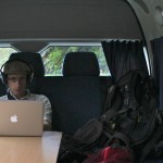 Montage vidéo dans le campervan