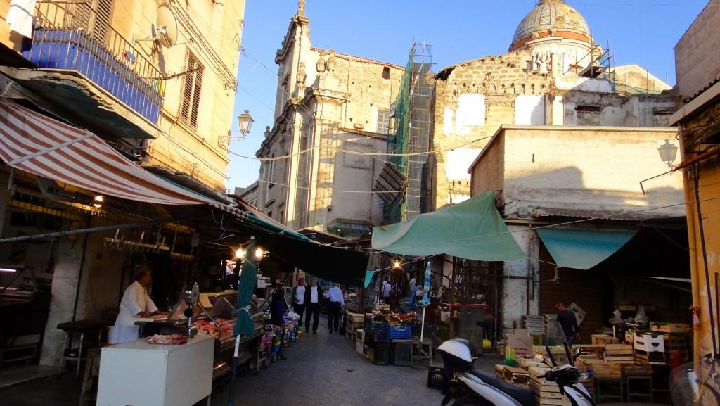 Au coeur des marchés de Palerme
