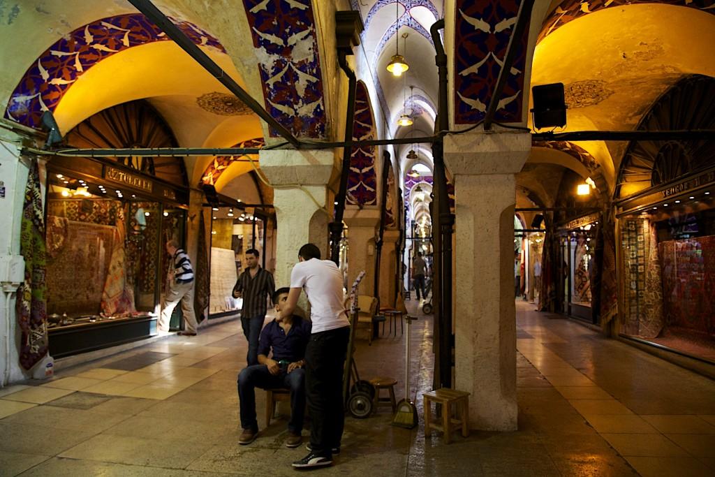 Les méandres du grand bazar d'Istanbul