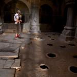 Jarre à vin dans le monastère de Haghbat