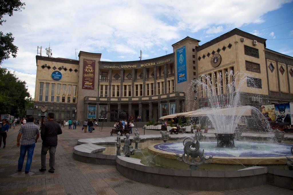 Architecture soviétique de Erevan