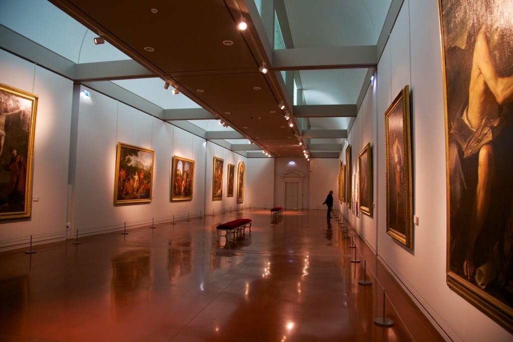 Salle climatisé du musée Fesch
