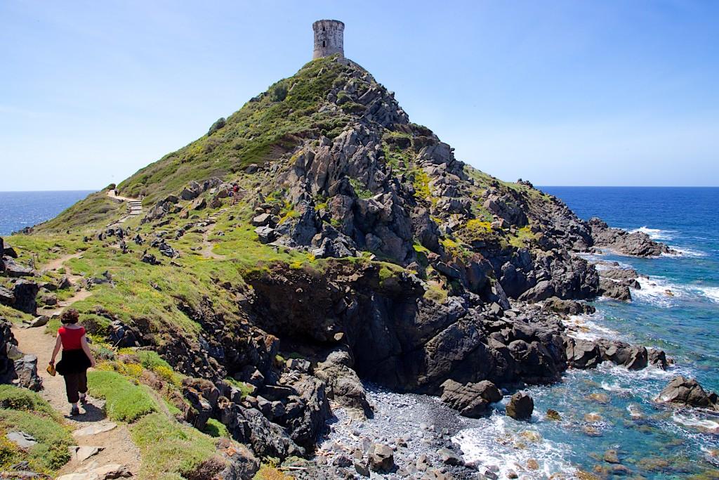 Tour génoise de la Parata en Corse