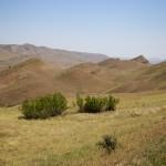 Paysage de Géorgie sur la route du retour vers Tbilissi