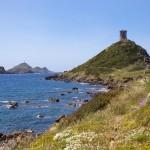Tour génoise de l'ile des sanguinaires à Ajaccio