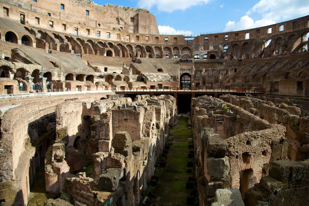 Au coeur du Colosseo