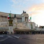 La place de Venice (Piazza Venezia) à deux pas du Capitole