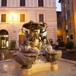 La fontaine des Tortues - fontana delle tartarughe en italien - située Piazza Mattei à Rome
