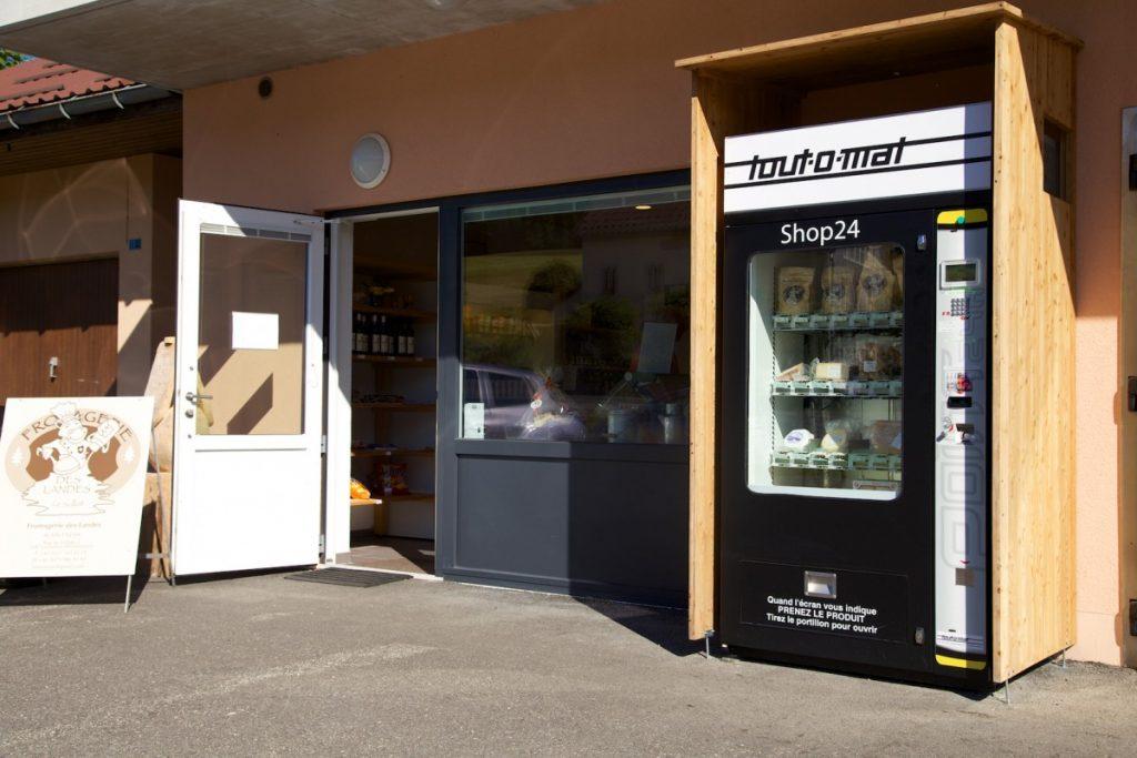 Distributeur automatique de fondue Suisse