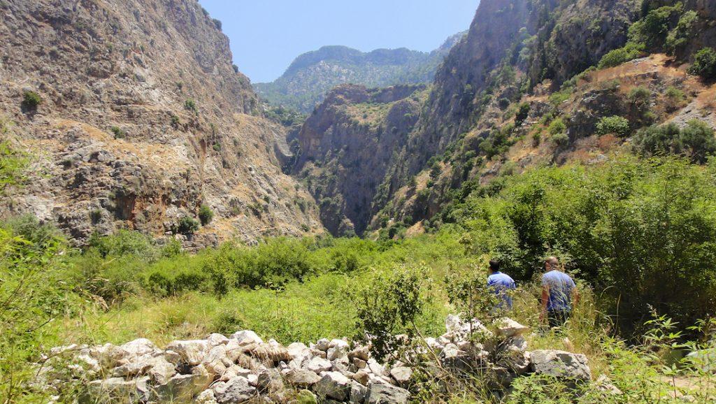 Quelques pas dans la vallée des Papillons en Turquie