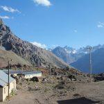 Poste de frontière entre l'Argentine et le Chili
