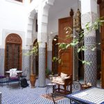 Patio du Riad al Safadi