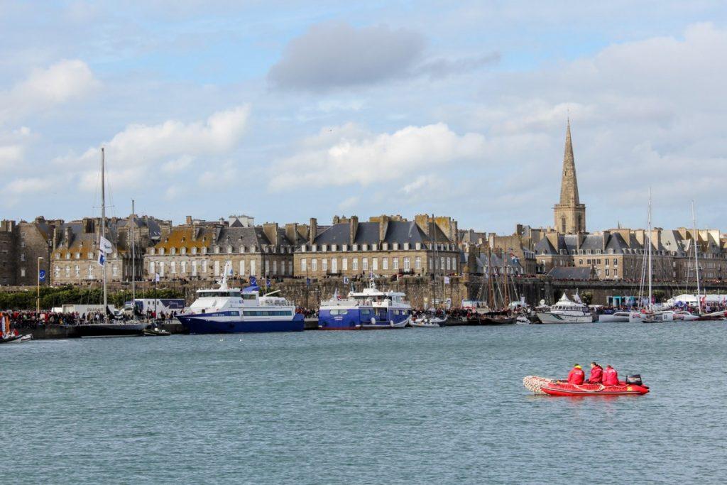 Vue sur Saint-Malo