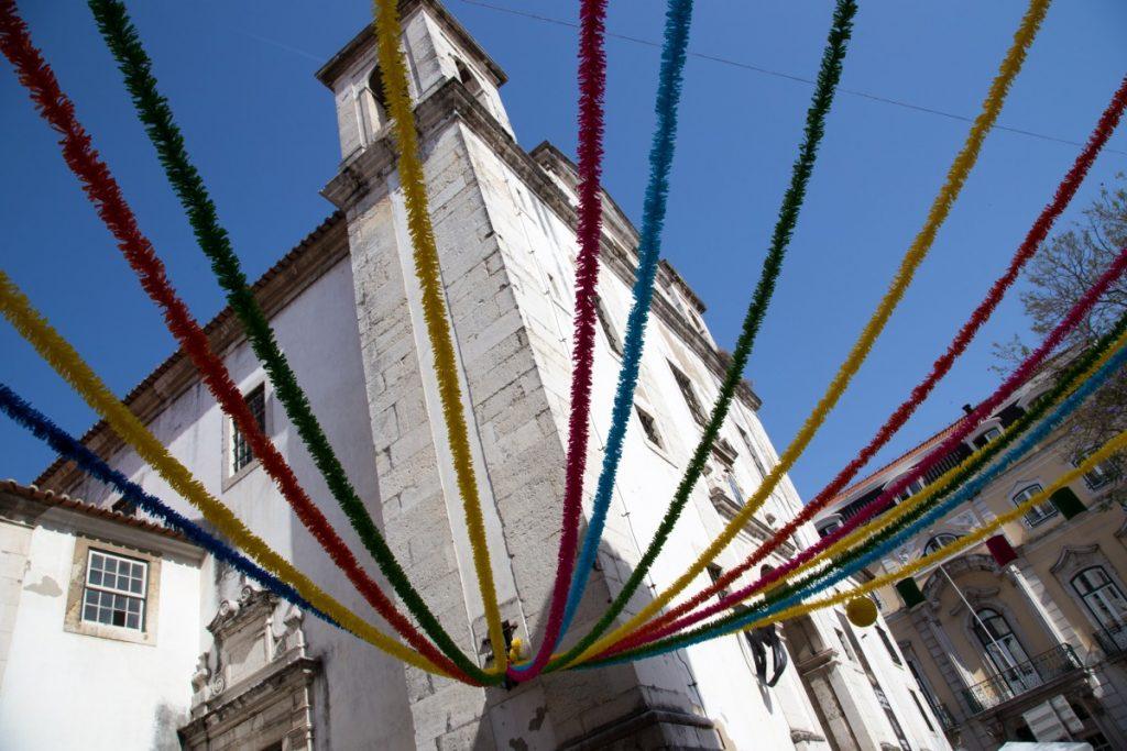 Décoration dans les rues de Lisbonne