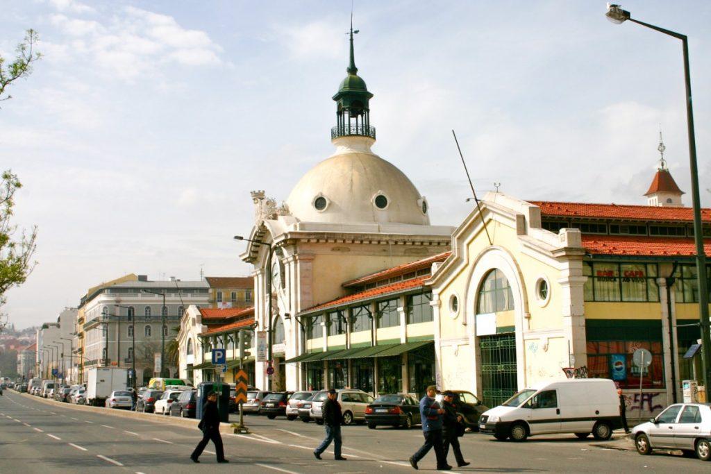Le marché couvert de Lisbonne