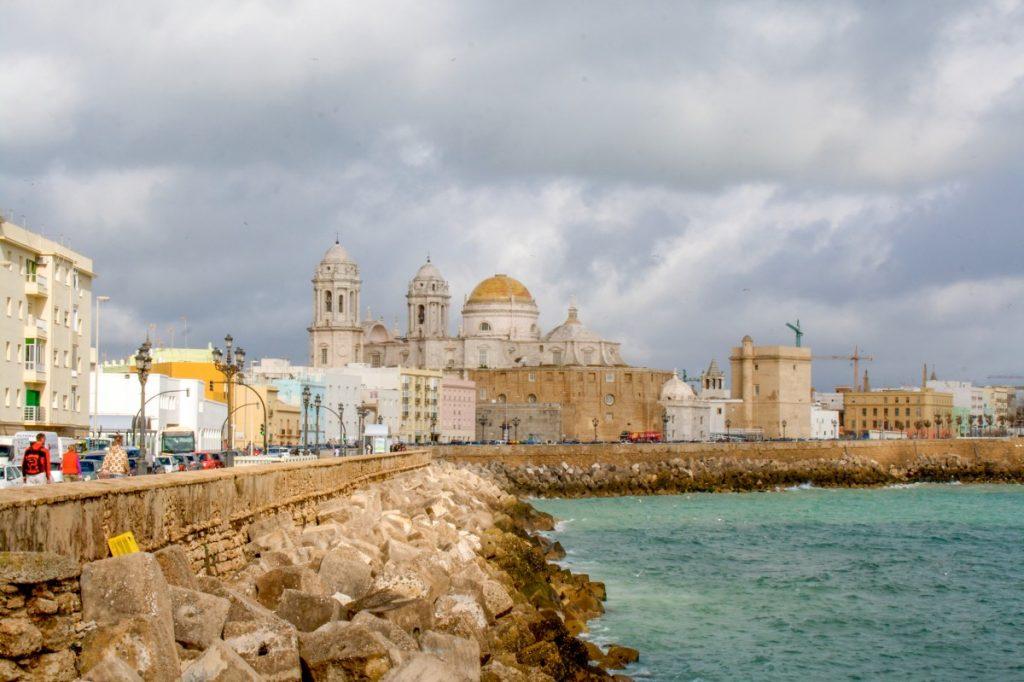 Cadix : sa plage et son centre historique