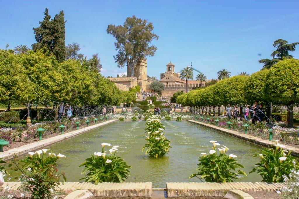 Cordoue : les jardins de l'Alcazar