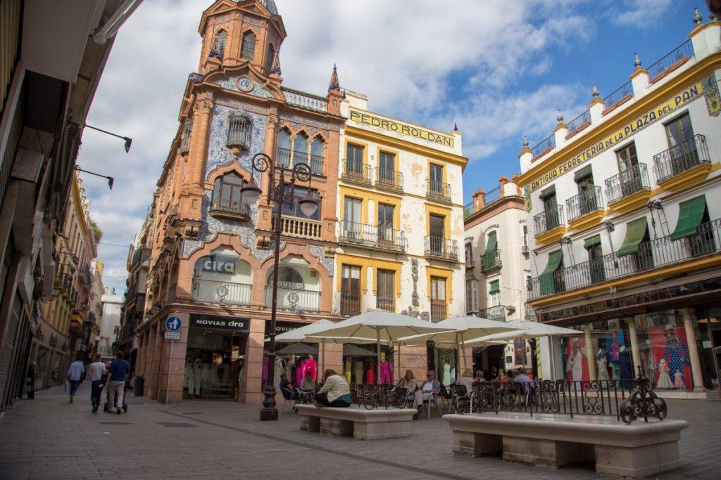 Plaza del Salvador au centre de Séville