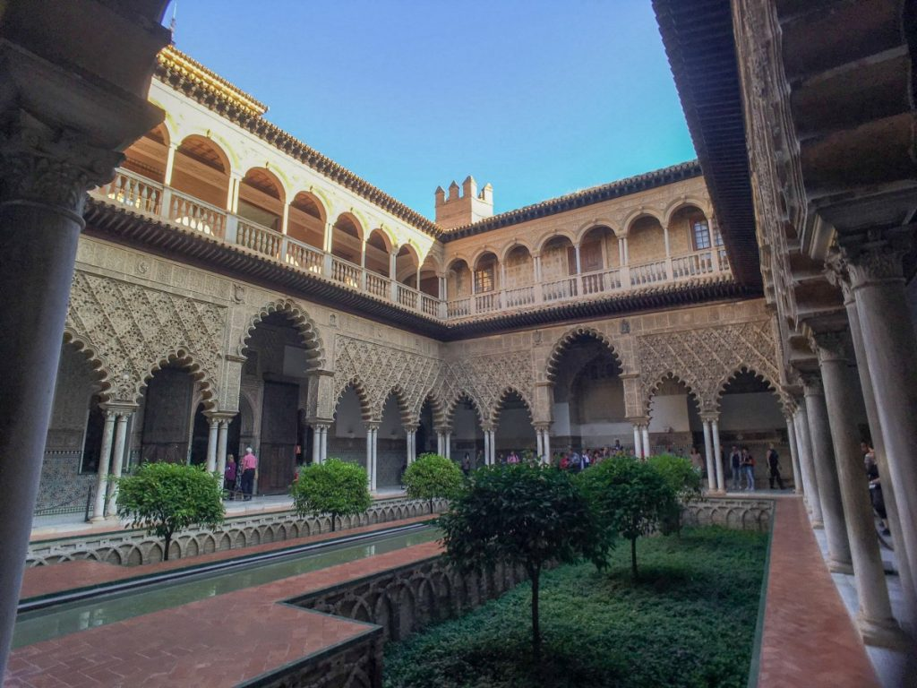Au coeur du Real Alcazar de Séville, monument le plus visité
