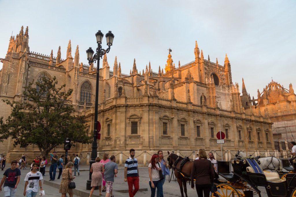 La Cathédrale gothique de Séville