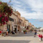 Petite ville de San Vito Lo Capo
