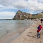 La paradisiaque plage de San Vito Lo Capo en Sicile