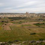Vue sur la campagne et les villages de Gozo