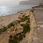 Sur le plateau de la tour de guet à Xlendi