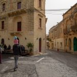 Ruelles de Gozo sur les îles de Malte