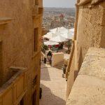 Ruelle de la citadelle de Victoria (Ir-Rabat) à Gozo