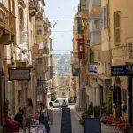 Ruelle de la Valette à Malte