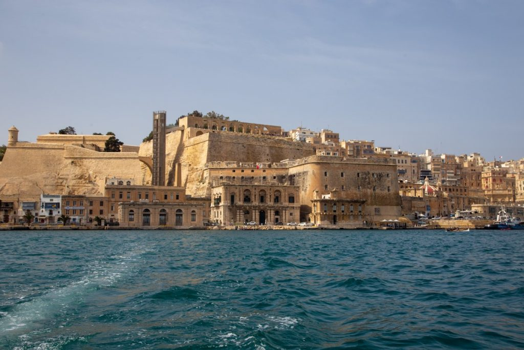 Cité fortifiée de la Valette à Malte
