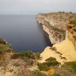 Falaises calcaires de Ta-Cenc à Gozo