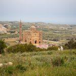 Basilic Ta'Pinu au nord-ouest de Gozo