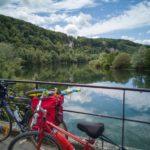 Voyage à vélo sur l'Eurovélo6 au bord du Doubs