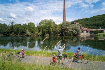Voyage à vélo : 4 jours sur l'EuroVélo 6en famille entre Besançon et Dole