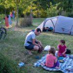 Une nuit au camping de Montech au top pour les cyclotouristes