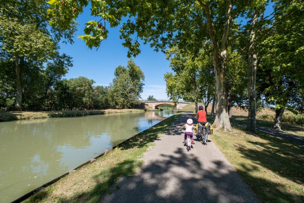 Le Canal des 2 mers à vélo en famille entre Toulouse et Agen