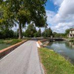 Superbe voie verte le long du Canal de la Garonne