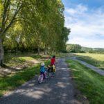 Canal des 2 mer à vélo en famille