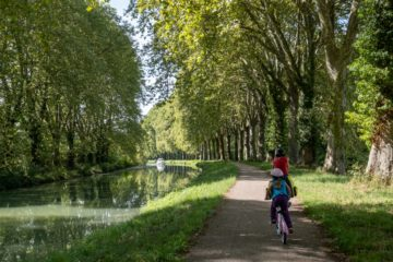 Une semaine sur le canal des 2 mers à vélo en famille