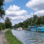 Plus rapides que les péniches sur le Canal latéral de la Garonne