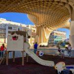 Parc de jeux pour enfants sous le Parasol à Séville