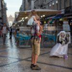 Animation de rue à Lisbonne