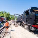 Train de l'Ardèche : vapeur, vallée du Doux et fourgon à vélo
