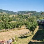 Train de l'Ardèche et Dolce via à vélo