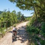 Les grands espaces de l'Ardèche à vélo accessible à tous