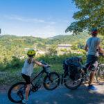 Voyage à vélo en famille : l'indispensable Follow-me