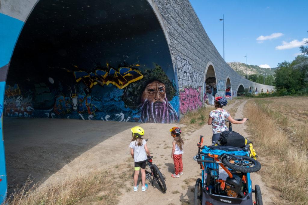Voutes peintes du Pont du Lônes, Valence