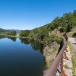 Voyage à vélo sur la Dolce Via en Ardèche